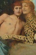 Affiche Exposition Temporaire Fernand Khnopff au Petit Palais à Paris
